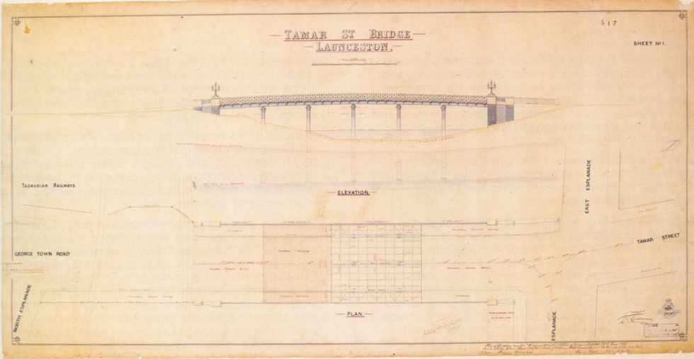 Engineers Drawing Bridge Copy