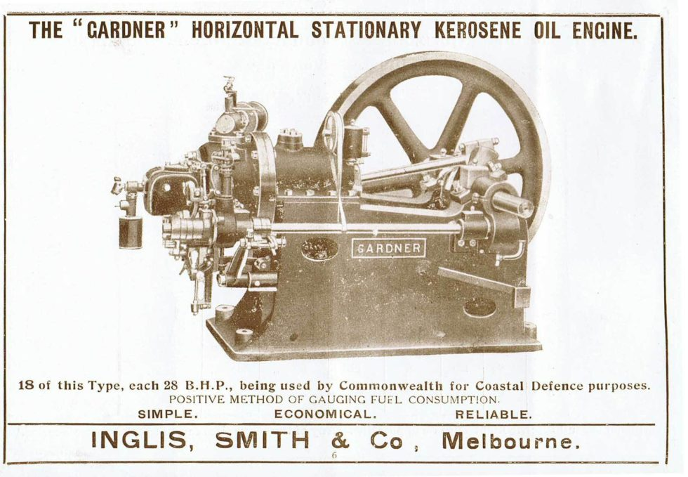 Gardner Horizontal Oil Engi