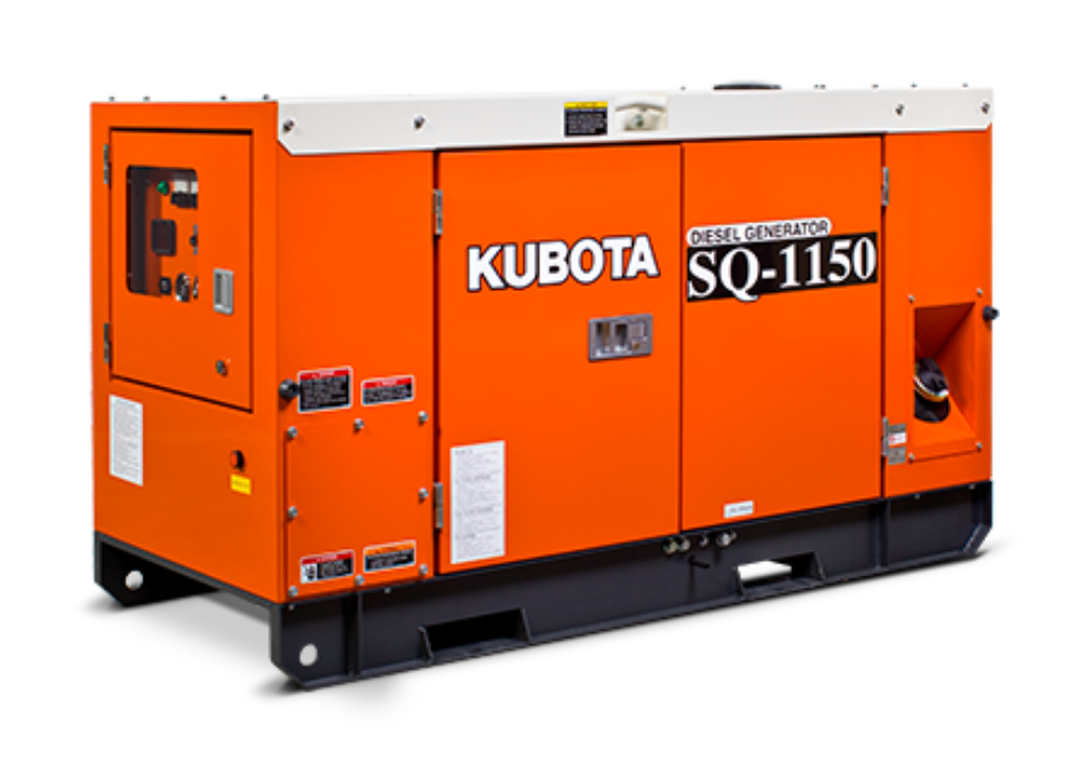 Kubota Generators Sq1150