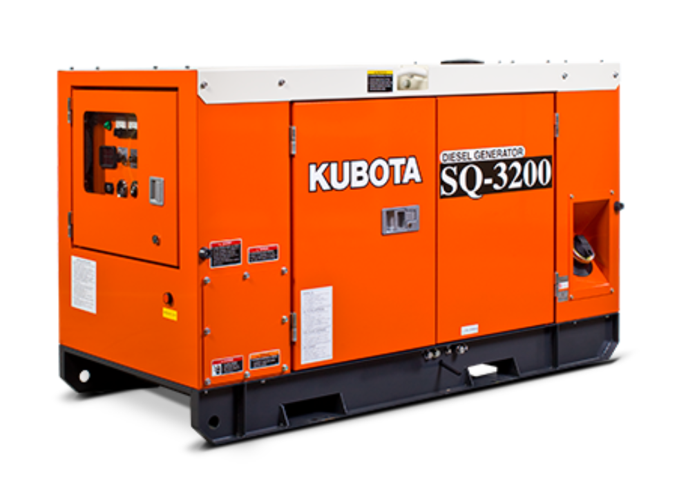 Kubota Generators Sq3200 B