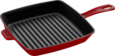 65297 American Grill 26Cm Cherry Red Hr