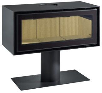 Adf Linea 100 B Heater Adh1000 F 102100 L3 Sv Studio With Optional Pedestal