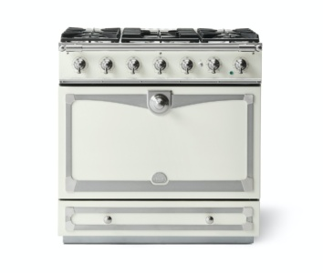 Alb90 Dfwh N Albertine 90 Range Cooker Pure White Nickel And Stainless Steel2