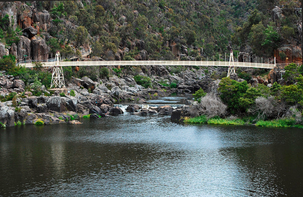 800Px Alexandra Suspension Bridge  Launceston Tasmania