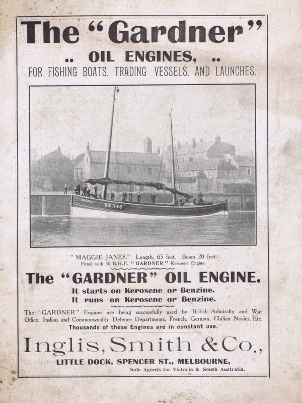 Gardner Oil Engine