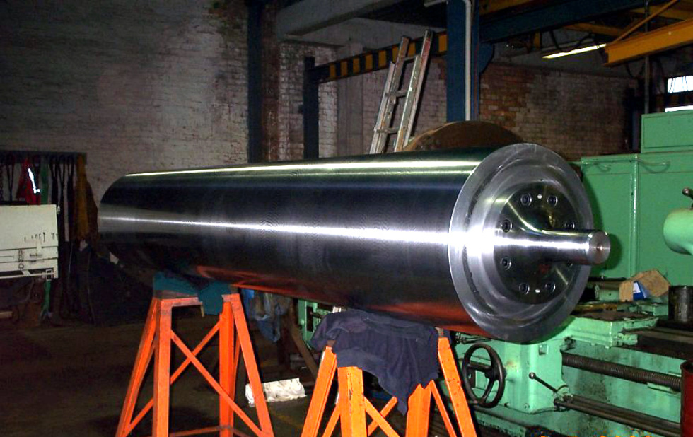 Heavy Press Roller Web