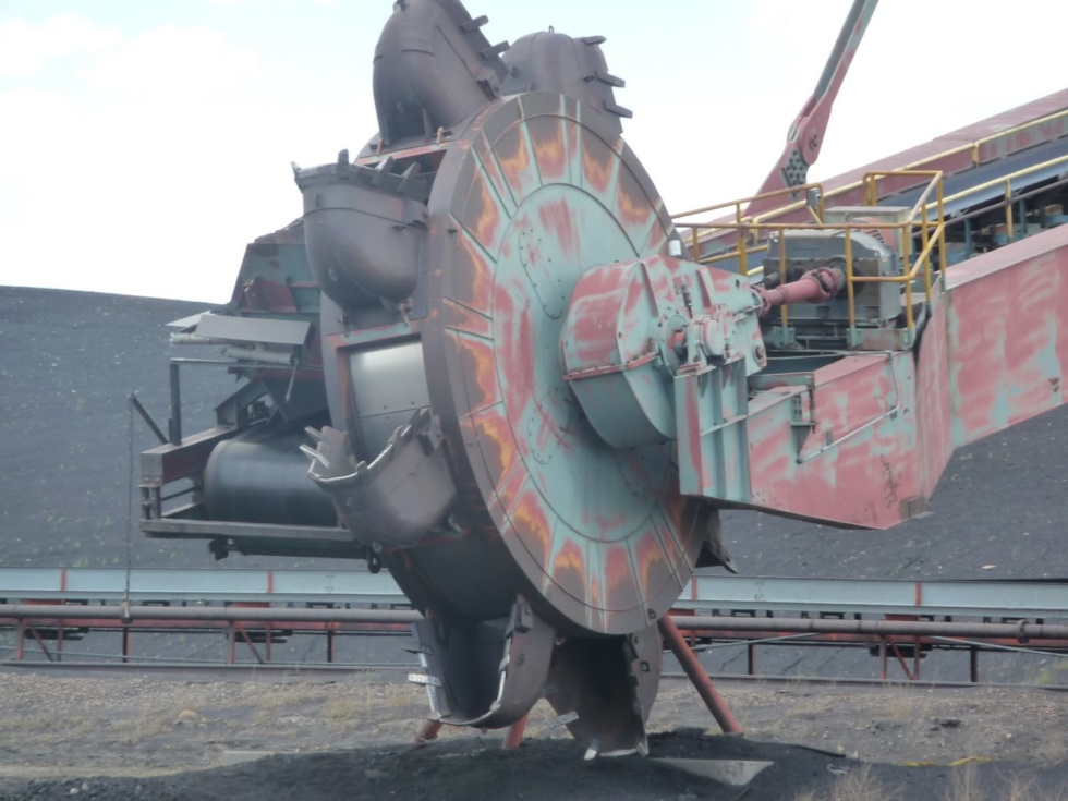 Krupp Bucket Wheel Conveyor